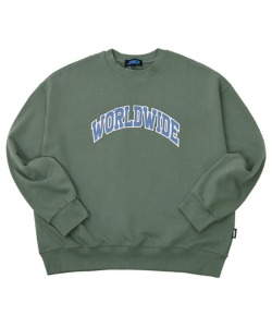 [신세경 PICK]Worldwide colored sweatshirts_KA