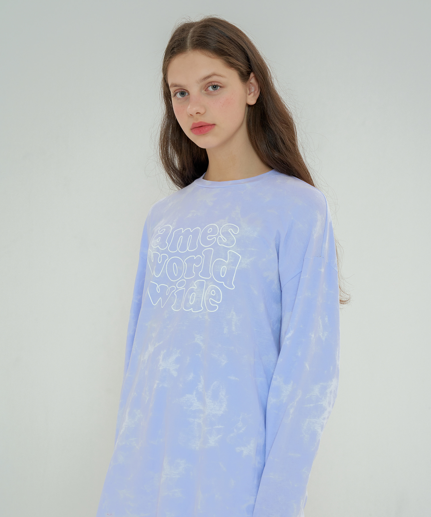 BUBBLE EMBLEM TYEDYE LONG SLEEVES_PP