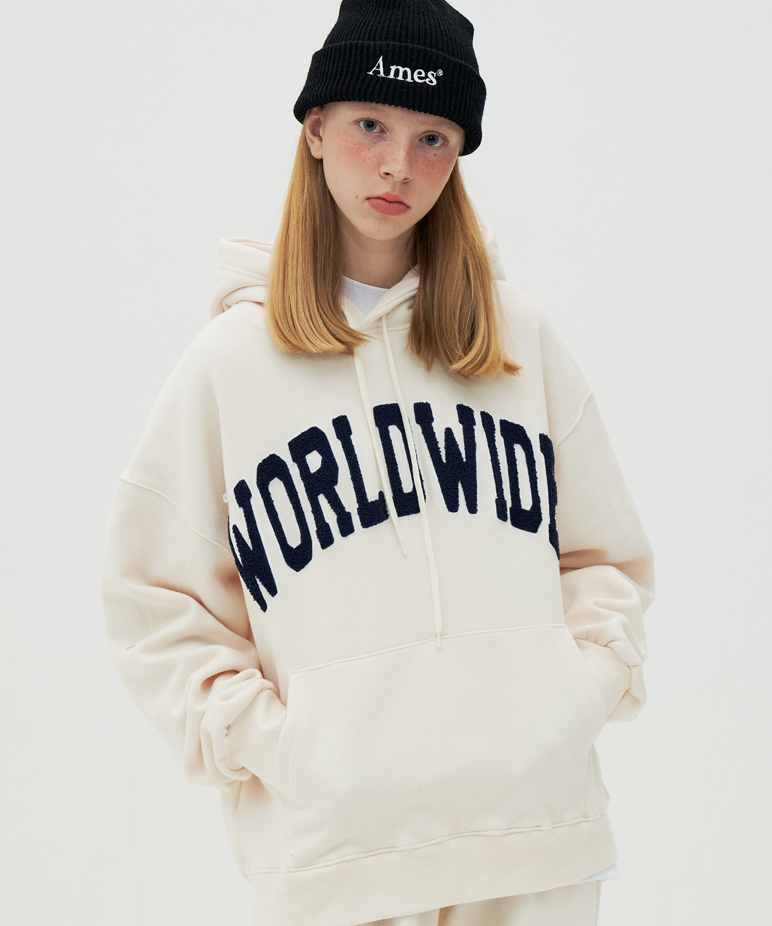 [수지PICK]WORLDWIDE SIGNATURE HOODIE_IV